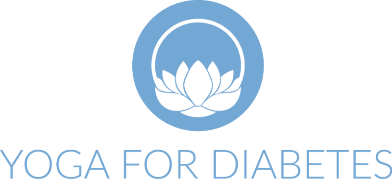 Yoga For Diabetes logo.