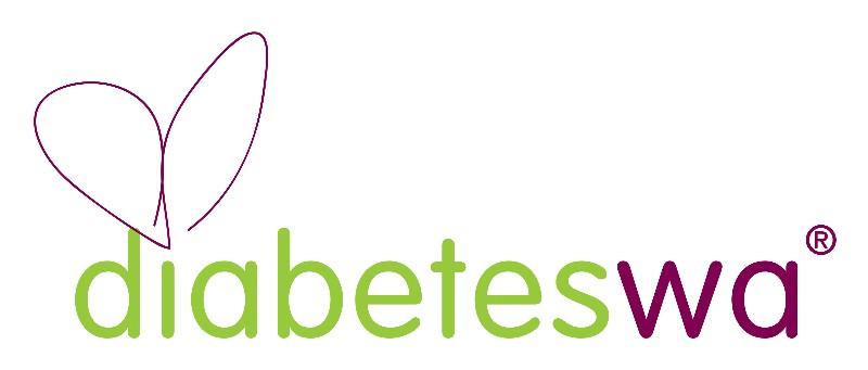 Diabetes WA logo.