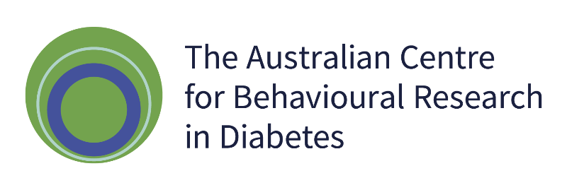 Australian Centre for Behavioural Research in Diabetes logo.