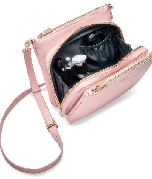 Cherise_Diabetes_Handbag_Blush_InteriorSuppliesAngle