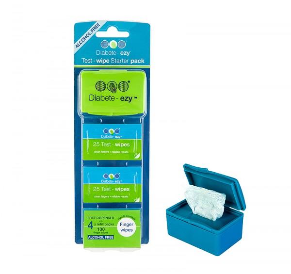 diabetes-test-wipes-starter-pack-green-600x565